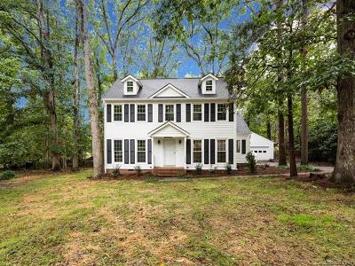Charlotte Single Family Home For Sale: 7200 Tobin Court