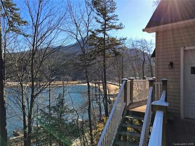 Bat Cave, Black Mountain, Chimney Rock, Columbus, Gerton, Lake Lure, Mill Spring, Rutherfordton, Saluda, Tryon, Union Mills Single Family Home For Sale: 219 Marina Drive #19 &