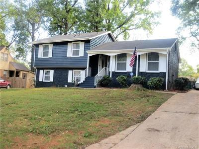 Charlotte NC Single Family Home For Sale: $290,000