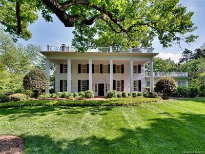 Charlotte NC Single Family Home For Sale: $3,995,000
