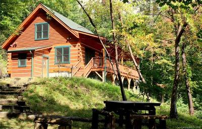 Hot Springs NC Single Family Home For Sale: $315,000
