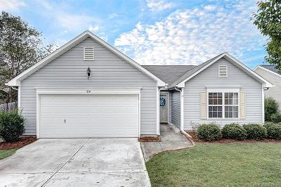 Kannapolis Single Family Home Under Contract-Show: 214 Water Ridge Avenue
