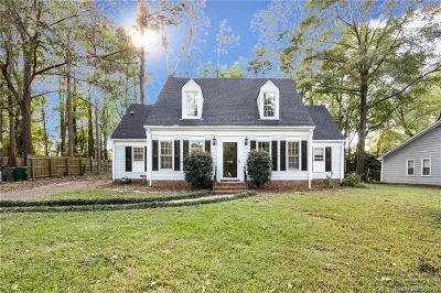Single Family Home For Sale: 7832 Winterset Drive