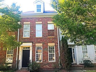 Charlotte Condo/Townhouse For Sale: 9733 Longstone Lane