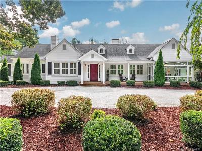Hendersonville Single Family Home For Sale: 1824 Kanuga Road