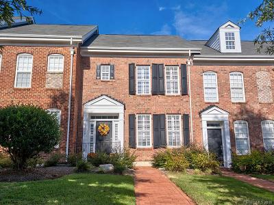 Charlotte Condo/Townhouse For Sale: 10540 Rocky Ford Club Road