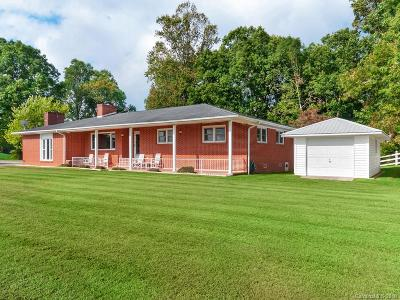 Mills River Single Family Home For Sale: 598 Miles View Drive