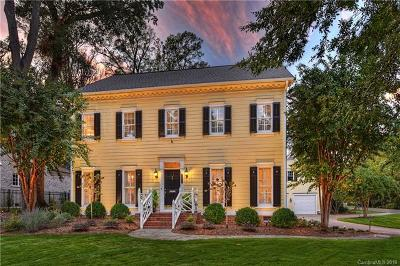 Charlotte NC Single Family Home For Sale: $1,119,000