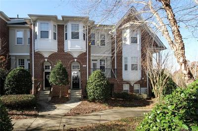 Charlotte Condo/Townhouse For Sale: 11011 Kingston Place Drive #11011