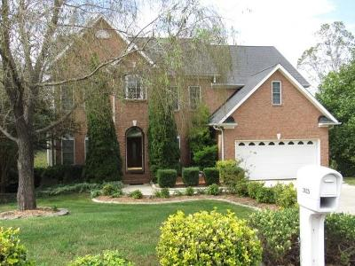 Hickory Single Family Home For Sale: 2625 Rolling Ridge Drive #6