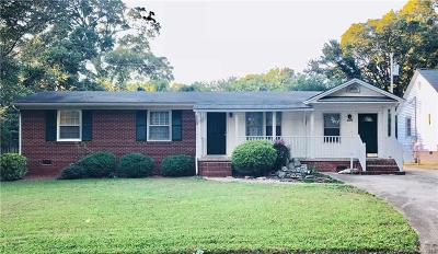 Single Family Home For Sale: 4624 Rockford Court