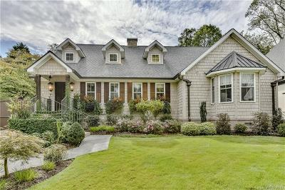 Charlotte NC Single Family Home For Sale: $1,145,000