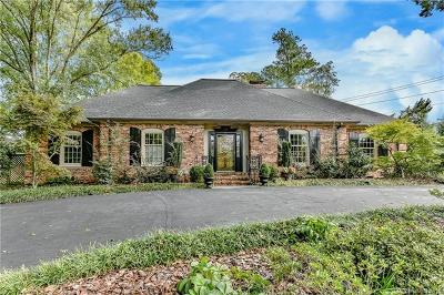 Charlotte Single Family Home For Sale: 3515 Foxcroft Road