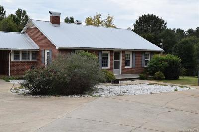 Rutherfordton Single Family Home Under Contract-Show: 721 Piedmont Road