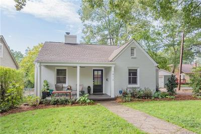 Charlotte Single Family Home For Sale: 1812 Hall Avenue