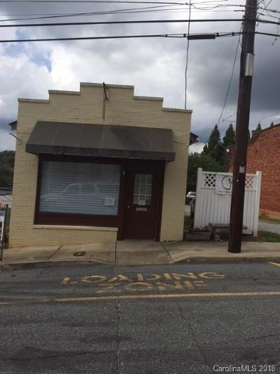 Rutherfordton Commercial For Sale: 130 Central Street