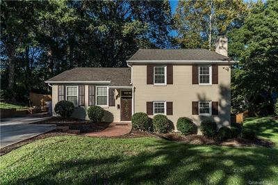Charlotte Single Family Home For Sale: 4001 Ashton Drive