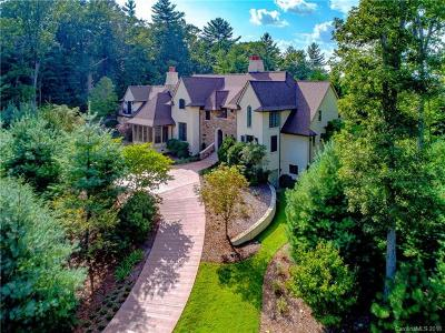 Asheville NC Single Family Home For Sale: $2,295,000