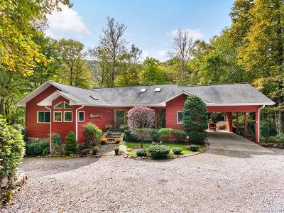 Waynesville Single Family Home For Sale: 239 Winding Creek Drive