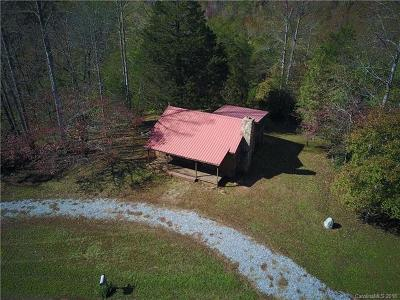 Lake Lure Single Family Home For Sale: 3991 Bills Creek Road