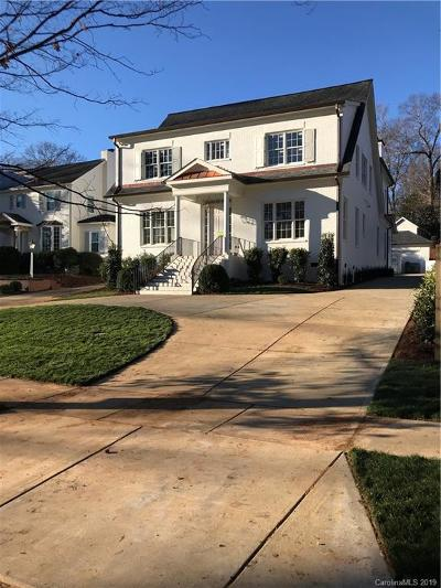 Myers Park Single Family Home For Sale: 2910 Hampton Avenue