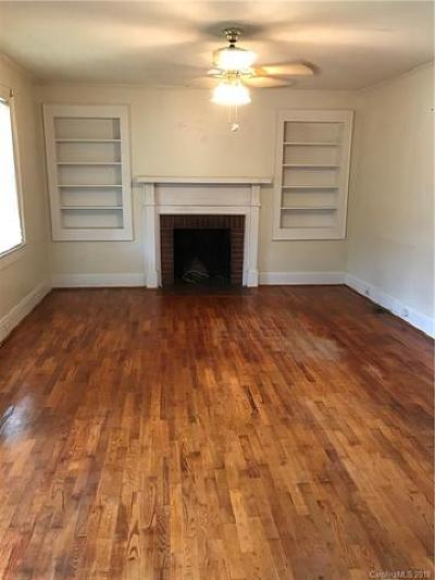 Cherryville Single Family Home For Sale: 1605 E Church Street
