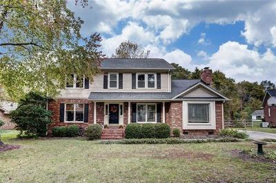 Single Family Home For Sale: 3310 Thaxton Place