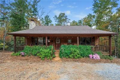 Lake Lure NC Single Family Home For Sale: $229,900