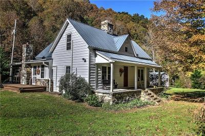 Hot Springs NC Single Family Home For Sale: $250,000