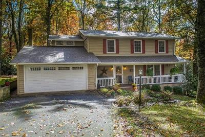Pisgah Forest Single Family Home For Sale: 9 Timberlane Drive