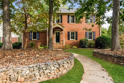 Single Family Home For Sale: 6200 Hickory Forest Drive
