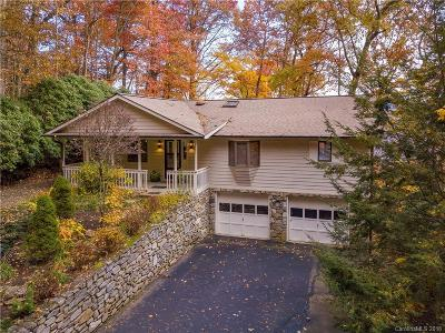Waynesville Single Family Home For Sale: 48 Skyline Drive