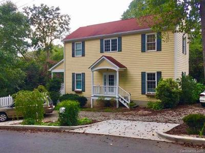 Asheville Single Family Home For Sale: 316 Westover Drive