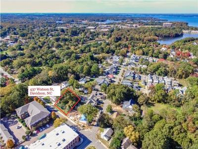Davidson Residential Lots & Land For Sale: 437 Watson Street