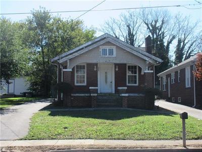 Hickory Single Family Home For Sale: 852 Highland Avenue NE