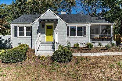 Charlotte Single Family Home For Sale: 5015 Doris Avenue
