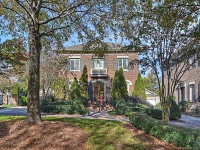 Charlotte Single Family Home For Sale: 8824 Heydon Hall Circle