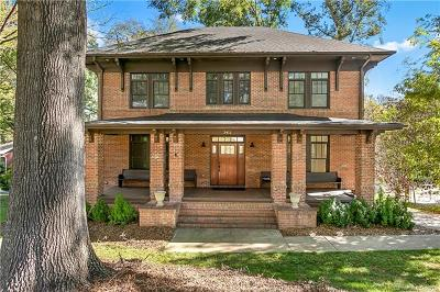 Myers Park Single Family Home For Sale: 3415 Windsor Drive