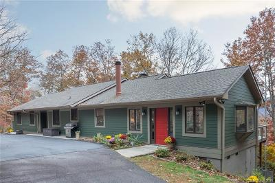 Bat Cave, Black Mountain, Chimney Rock, Columbus, Gerton, Lake Lure, Mill Spring, Rutherfordton, Saluda, Tryon, Union Mills Single Family Home For Sale: 45 Hi View Drive