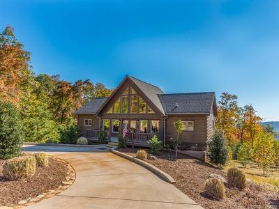 Bat Cave, Black Mountain, Chimney Rock, Lake Lure, Rutherfordton, Union Mills, Bostic, Columbus, Tryon, Saluda, Mill Spring Single Family Home For Sale: 144 Tatanka Trail