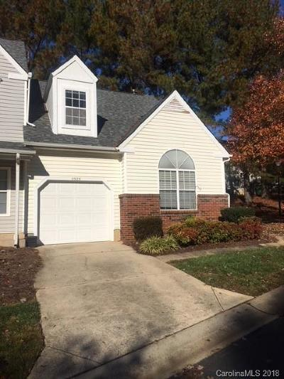 Charlotte NC Condo/Townhouse For Sale: $147,500