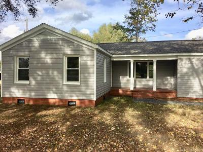 Monroe Single Family Home For Sale: 3418 Old Charlotte Highway