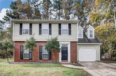 Mint Hill Single Family Home For Sale: 14801 Bridgewater Lane