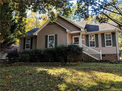 Stanly County Single Family Home For Sale: 444 Oak Road