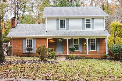 Single Family Home Sold: 1242 Allenbrook Drive