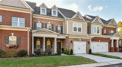 Charlotte Condo/Townhouse For Sale: 5121 Pansley Drive