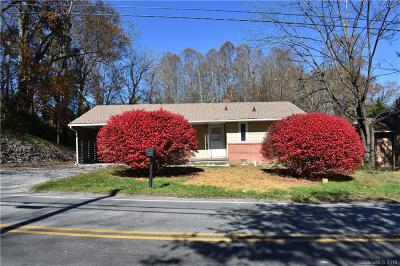 Brevard Single Family Home For Sale: 353 Old Hendersonville Highway
