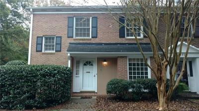 Charlotte Condo/Townhouse For Sale: 4470 Mullens Ford Road