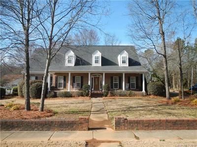 Indian Trail Single Family Home For Sale: 3617 Lake Park Road