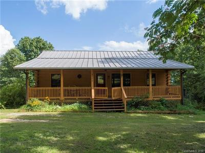 Bat Cave, Chimney Rock, Lake Lure, Gerton, Black Mountain, Mill Spring, Rutherfordton, Columbus, Tryon, Saluda, Union Mills, Hendersonville Single Family Home For Sale: 3100 Sugarloaf Mountain Road